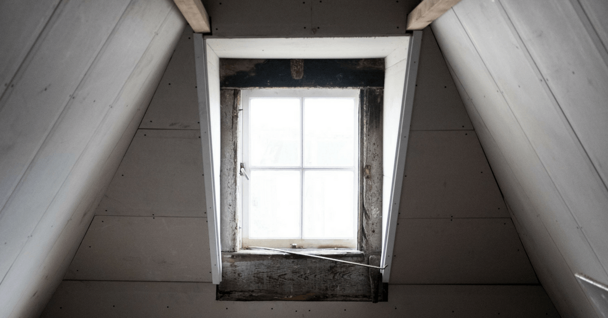 Window in attic