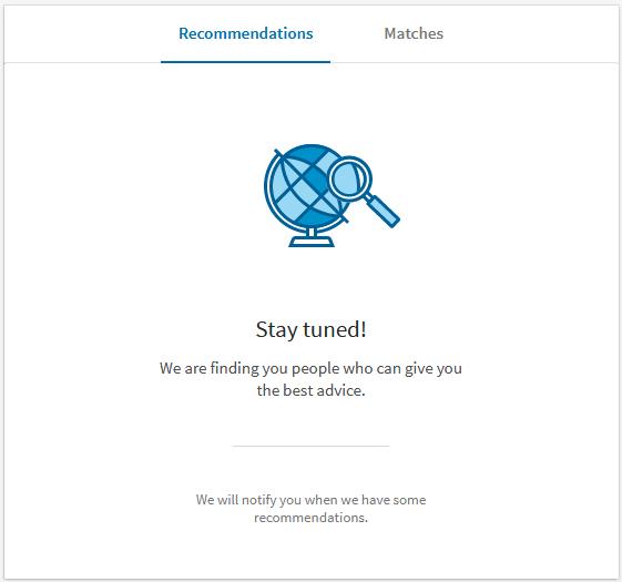 LinkedIn Mentor Matching Service
